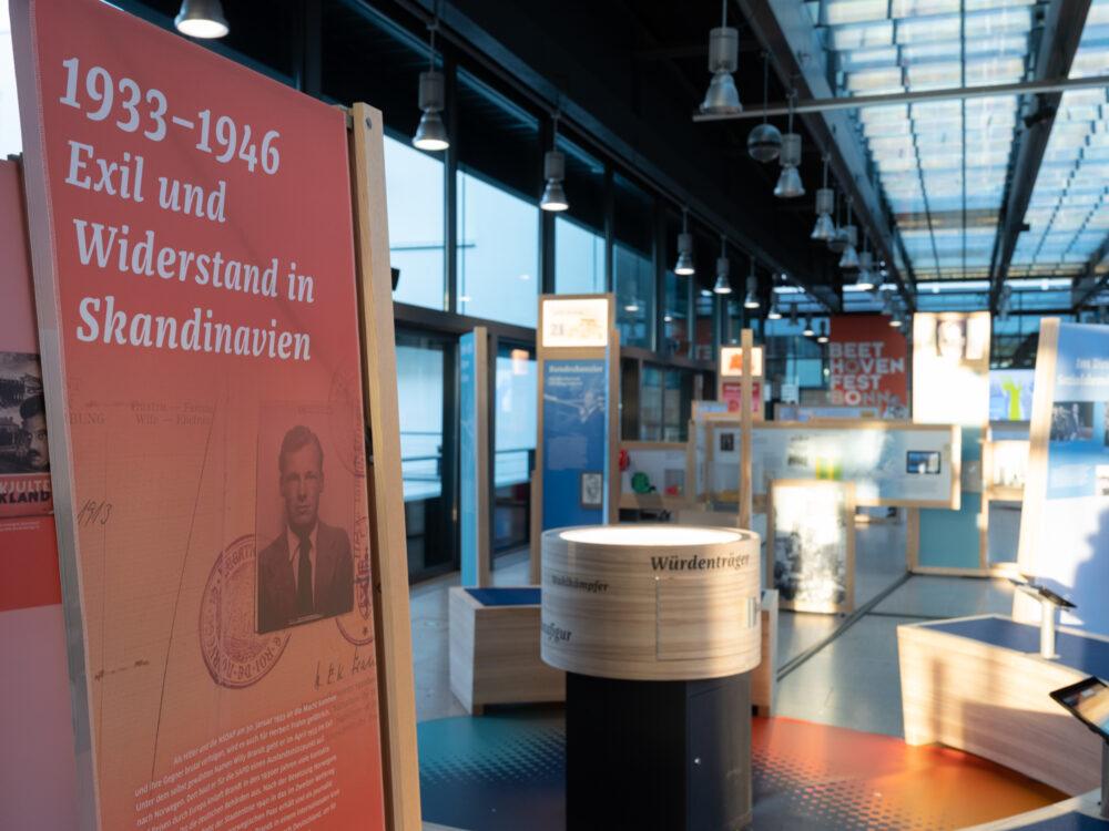 Eröffnung Willy Brandt Wanderausstellung Bonn