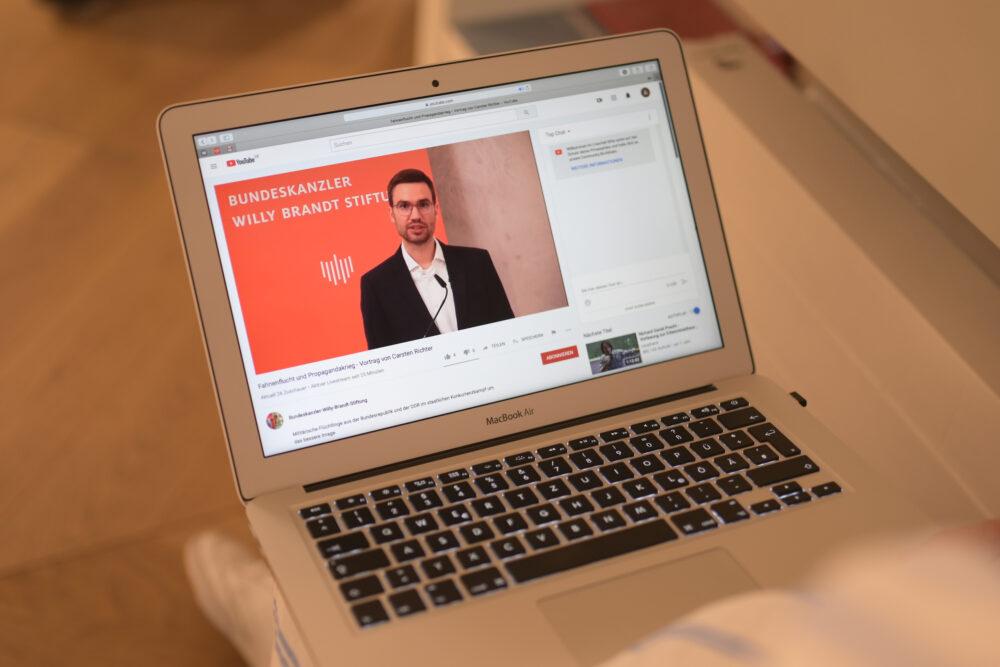 Onlinevortrag in Kooperation mit dem Institut für Zeitgeschichte München-Berlin