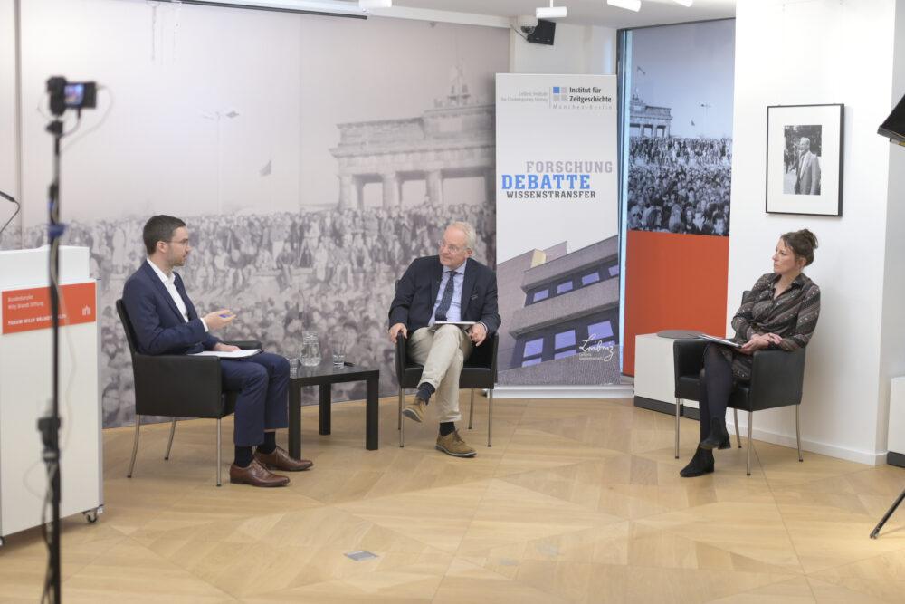 Carsten Richter im Gespräch mit Hermann Wentker und Kristina Meyer