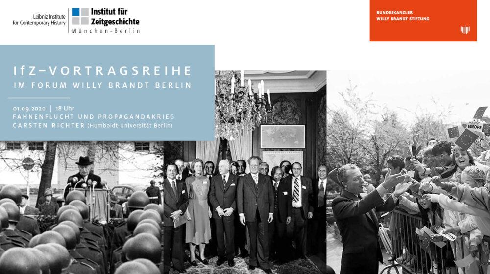 Vortragsreihe Bundeskanzler-Willy-Brandt-Stiftung, Institut für Zeitgeschichte