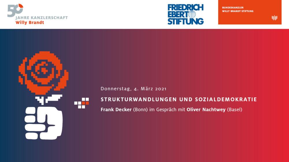 Strukturwandlungen und Sozialdemokratie