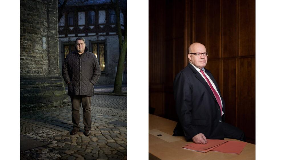 Sigmar Gabriel und Peter Altmaier