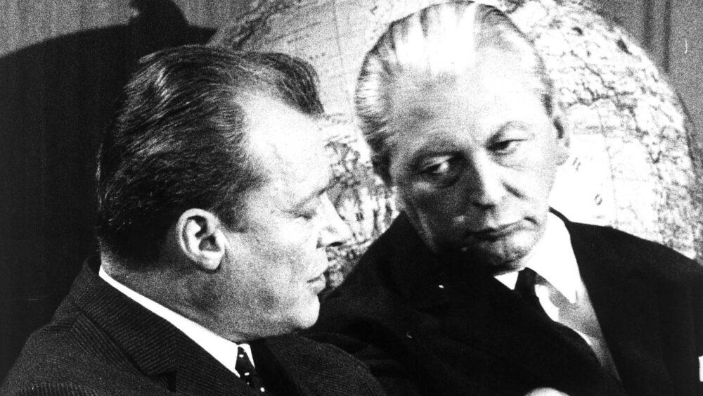Willy Brandt und Kiesinger