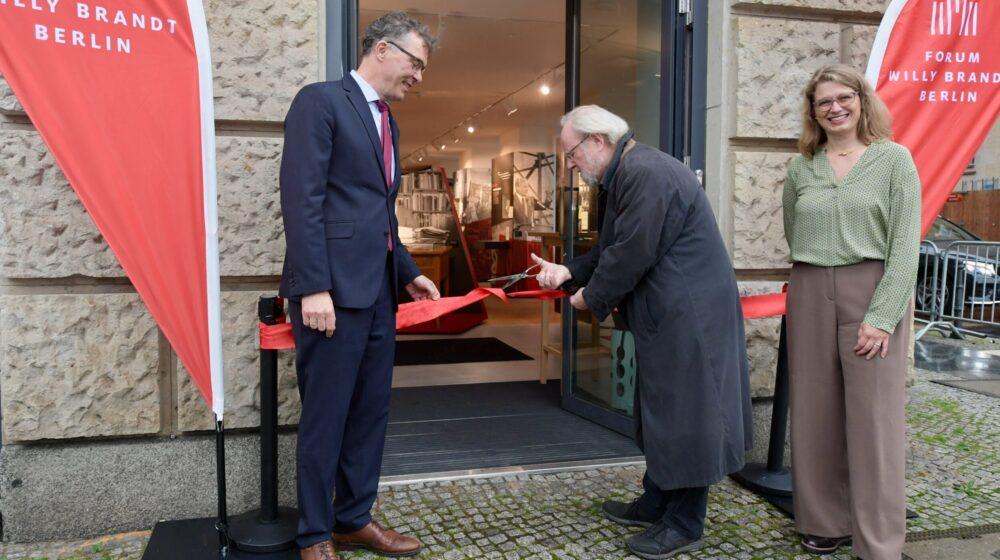 Eröffnung Forum Willy Brandt Berlin