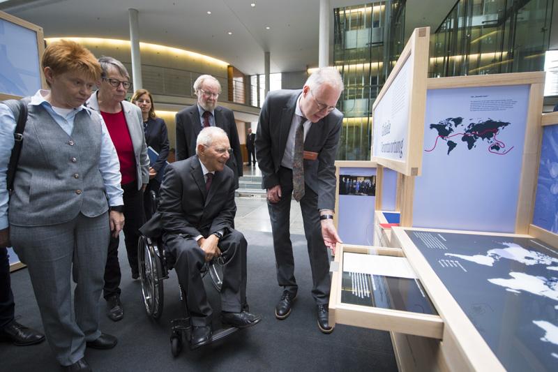 Die nationale Wanderausstellung im Deutschen Bundestag