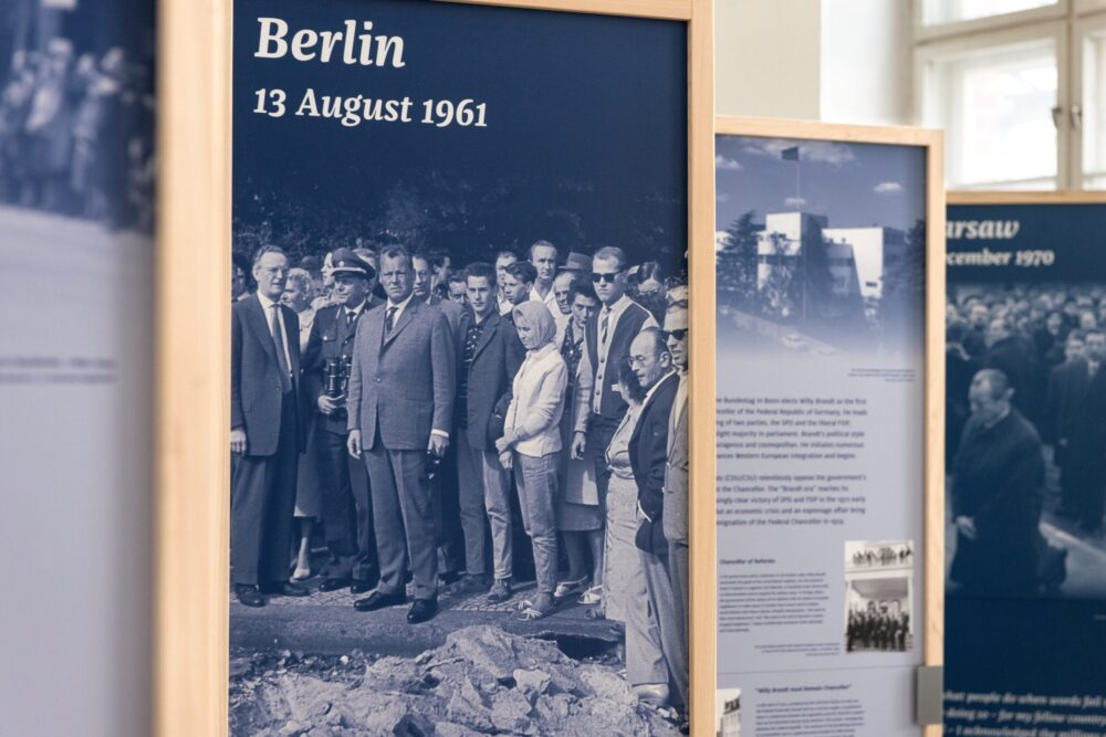 Willy Brandt 1913-1992. A Life for Freedom, Peace and Reconciliation between Nations