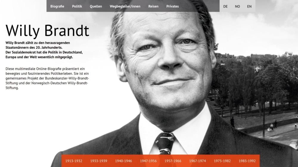 Willy Brandt Bundeskanzler Willy Brandt Stiftung