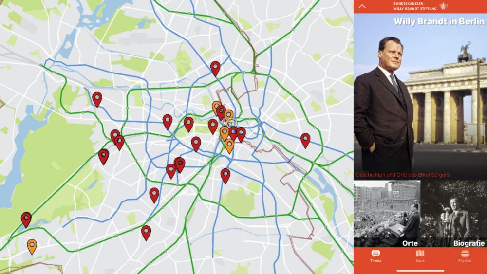 berlin history app_Themenlayer Willy Brandt_Karte App